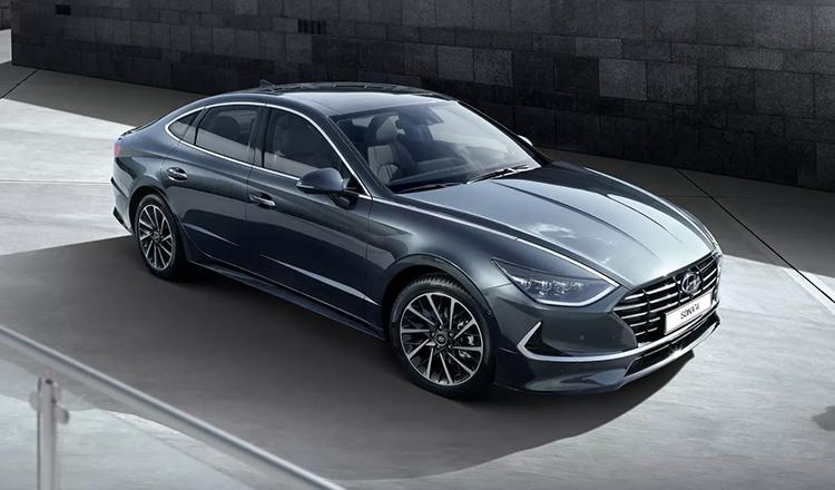 Экстерьер Hyundai Sonata