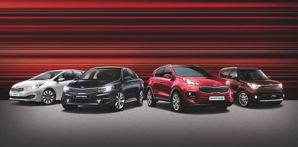 KIA начинает продажи новой специальной серии моделей RED Line