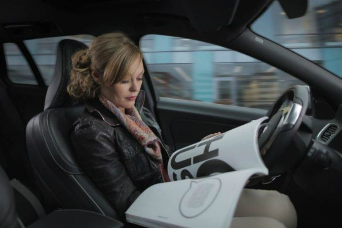 Volvo Cars представляет системное решение для использования автомобилей с автономным управлением на обычных дорогах