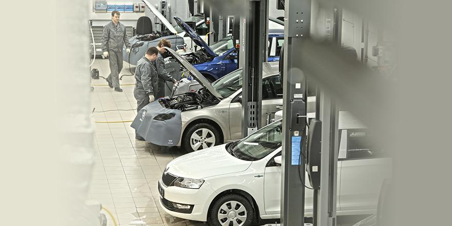 Выгода до 40% на ТО ŠKODA в новом дилерском центре Автопрага МКАД!