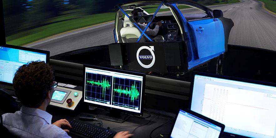 Volvo Cars использует самый передовой в мире симулятор шасси для разработки нового поколения автомобилей VOLVO