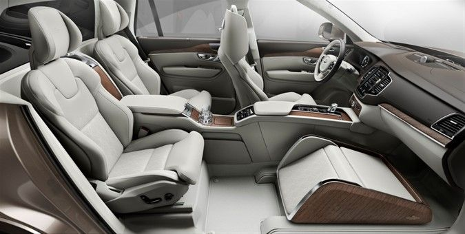 Volvo Cars представляет в Шанхае концепцию Lounge Console, демонстрируя новый уровень роскоши