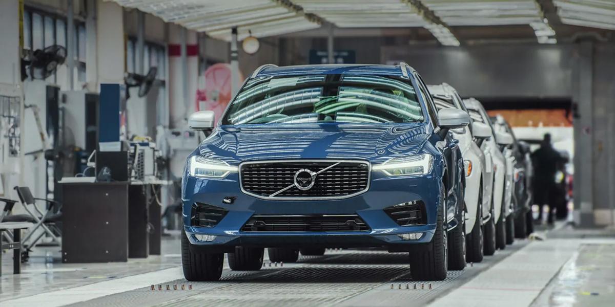 Завод Volvo Cars в Чэнду полностью перешел на использование возобновляемой электроэнергии