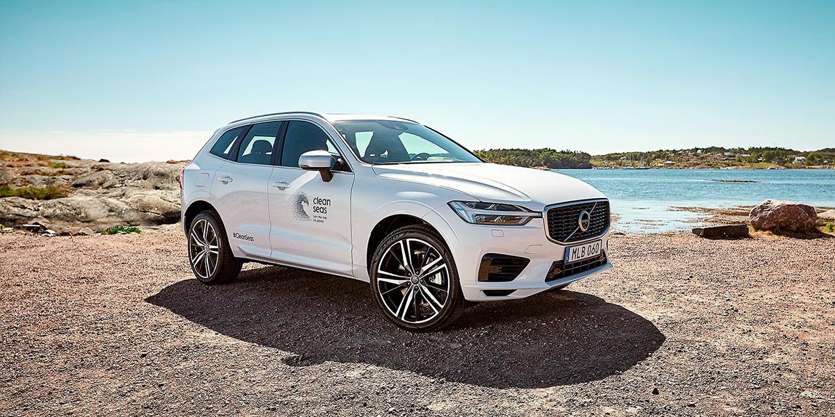 Volvo Cars первой в автоиндустрии подписывает хартию «Большой семёрки» по защите океана от пластикового загрязнения