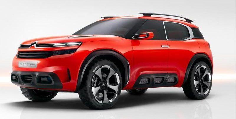 Новый концепт Citroen Aircross