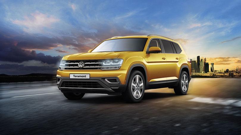 Купить Фольксваген Терамонт 2020 - 2019 у официального дилера в Москве. Новый Volkswagen Teramont : комплектации и цены, технические характеристики