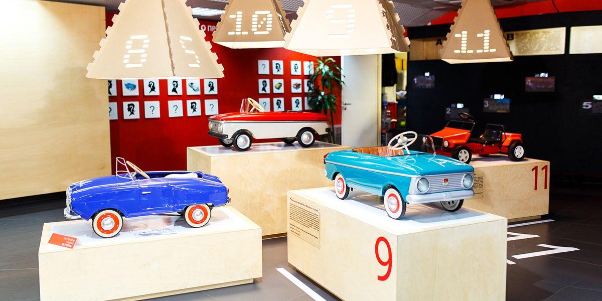 Торжественное открытие Музея автомобильных историй