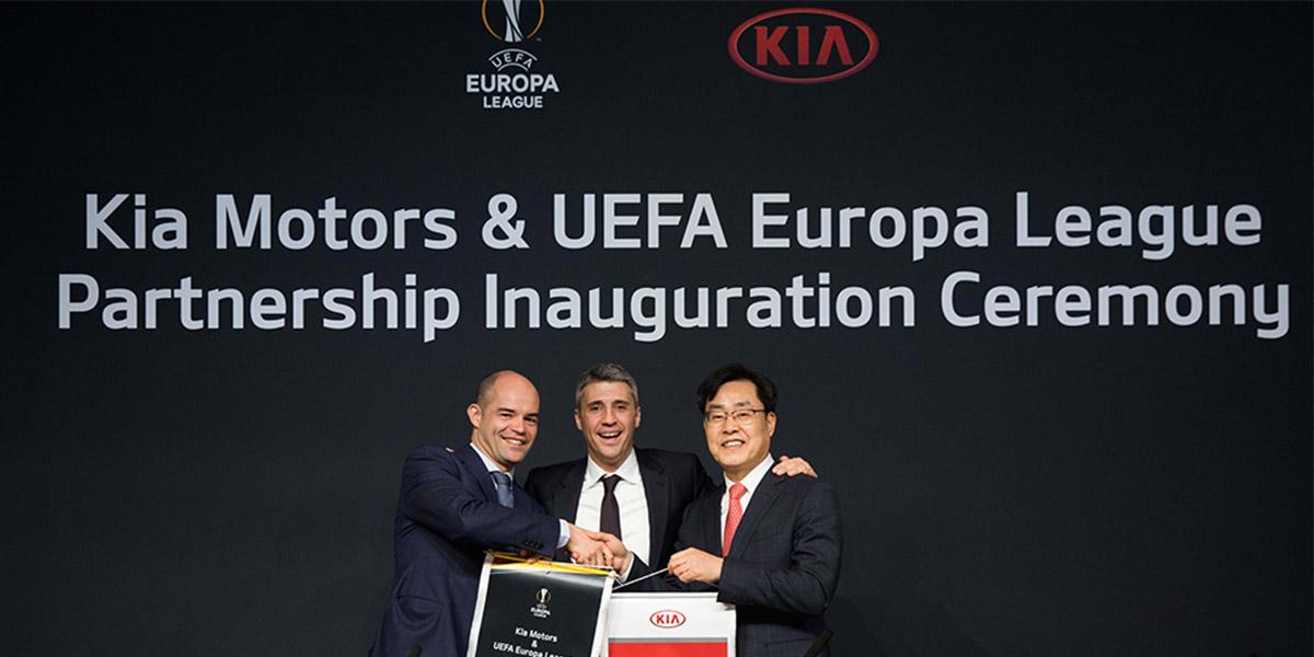KIA Motors - Официальный партнер Лиги Европы UEFA