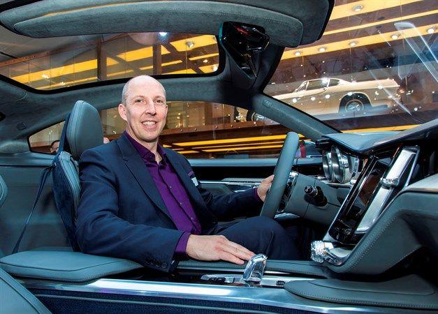Дизайнер Volvo Cars Робин Пейдж признан лучшим