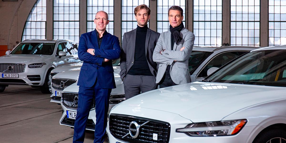 Три дизайнера лучше, чем один: секреты успеха нового модельного ряда Volvo
