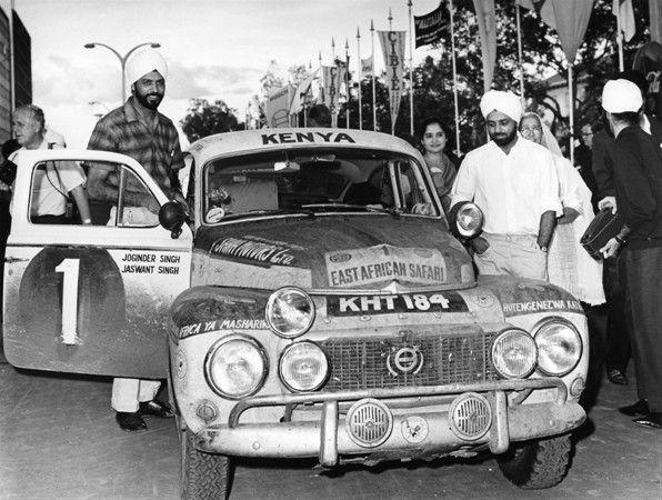 50 лет назад братья Сингх одержали фантастическую победу на автомобиле Volvo в Ралли Сафари