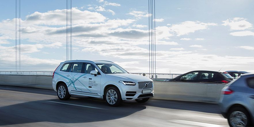 Volvo Cars протестирует автопилоты на дорогах Китая
