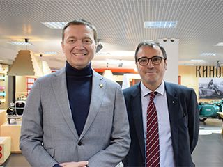 Старший вице-президент компании Renault посетил FAVORIT MOTORS