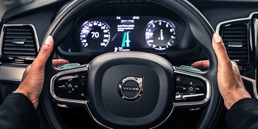 Volvo Cars представляет безопасный и надежный в работе интерфейс для автомобилей с автопилотом