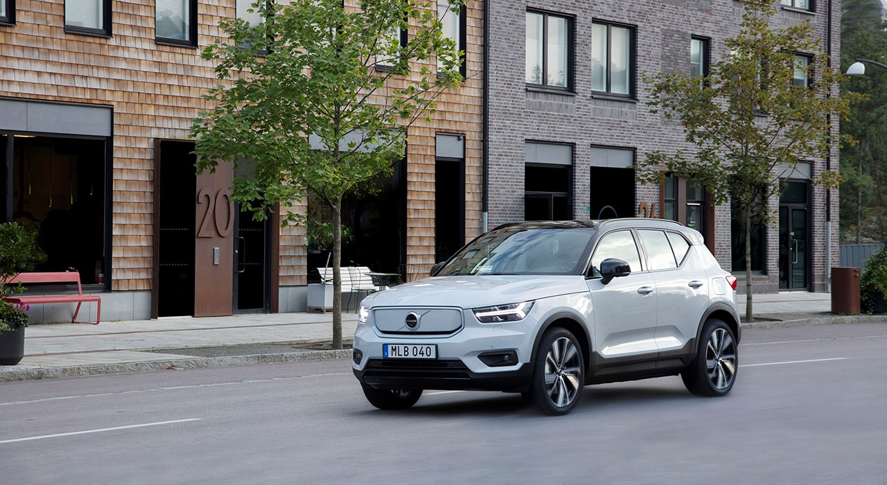 Volvo Cars начинает производство полностью электрического XC40 Recharge P8