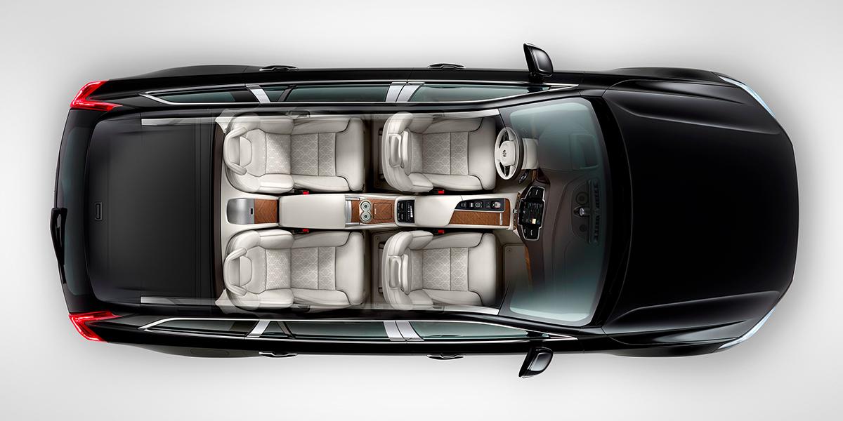 Четырёхместный внедорожник Volvo XC90 в люксовой версии Excellence теперь доступен для заказа в России