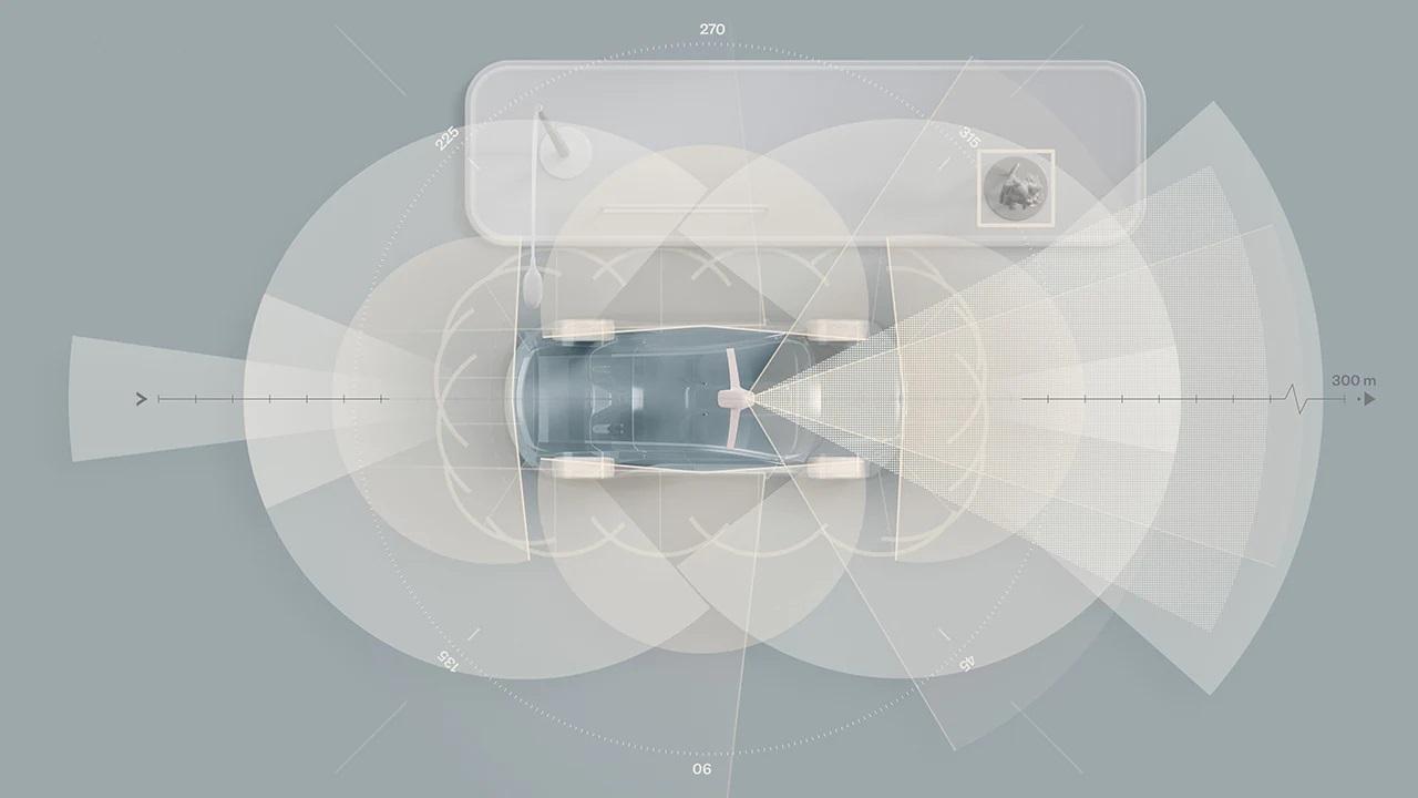 Электромобиль Volvo нового поколения в стандартной комплектации будет оснащен технологией LiDAR и суперкомпьютером с искусственным интеллектом, помогающими спасать человеческие жизни