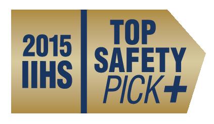 Volvo Cars получает лучший рейтинг IIHS Top Safety Pick+ за 2015 модельный год