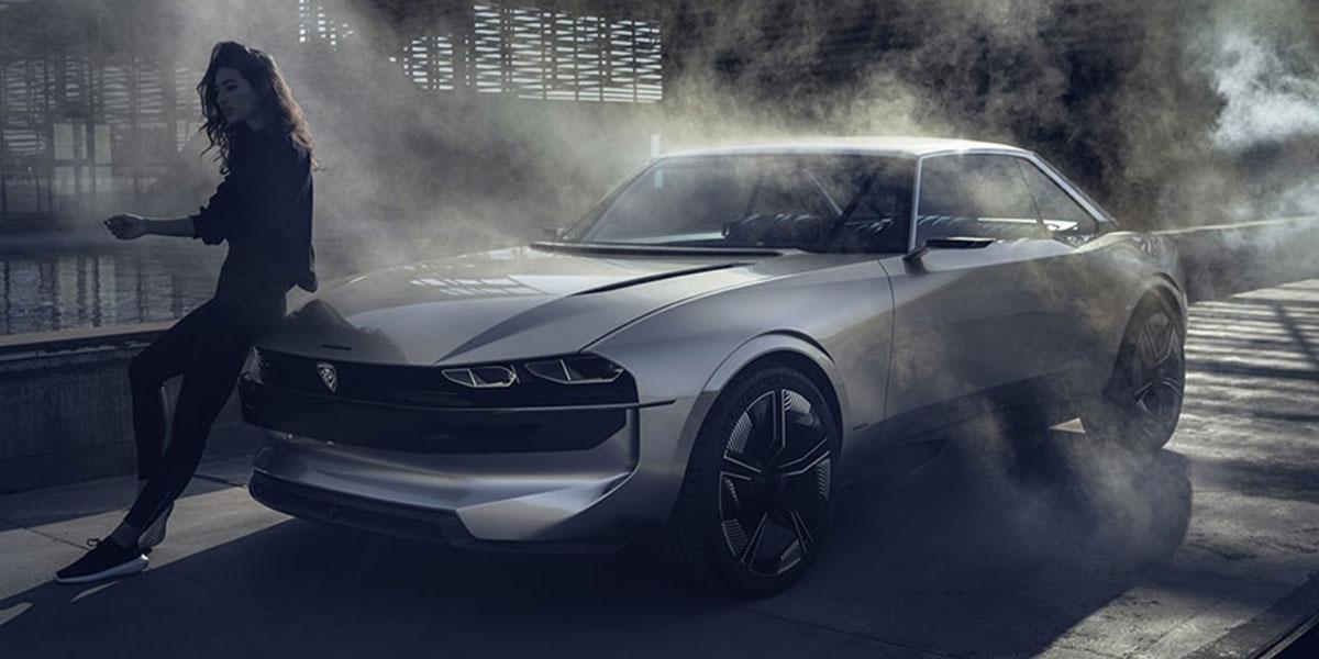На Французском автосалоне Peugeot показала машину будущего