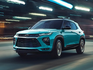 Представляем абсолютно новый Chevrolet Trailblazer!