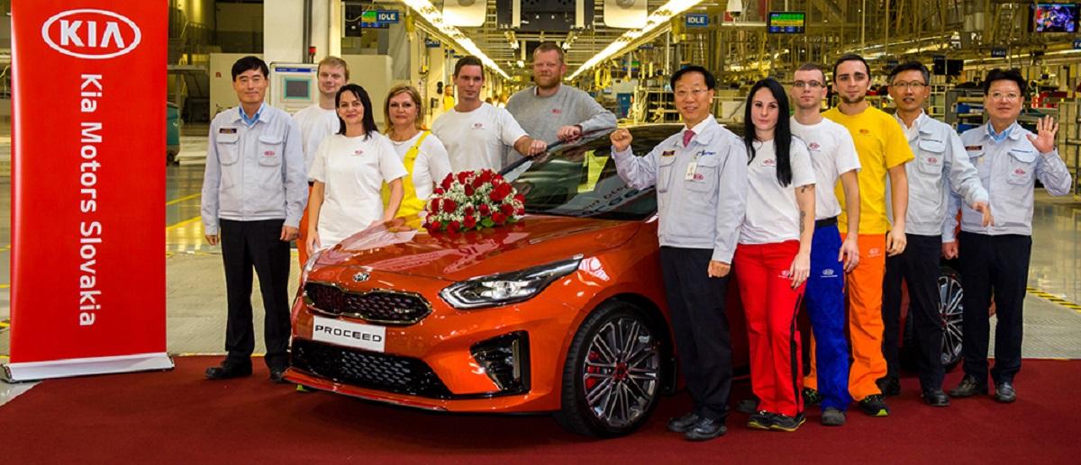 Производство нового KIA ProCeed началось на заводе в Словакии