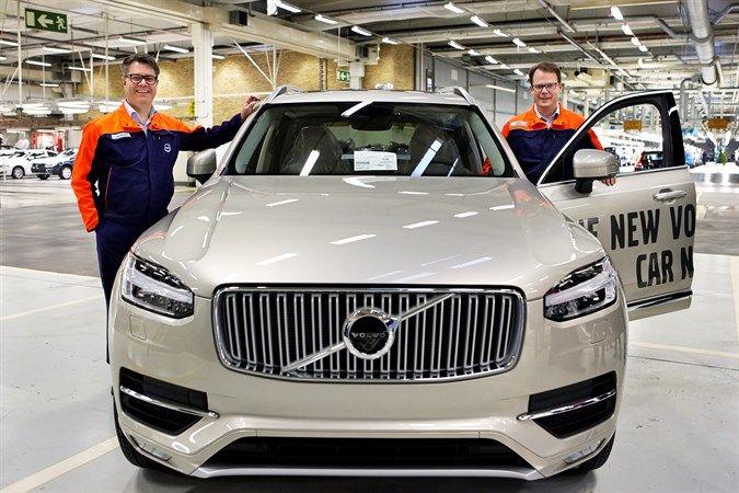 Завод VOLVO CARS в Торсланде вводит третью смену – VOLVO CARS создает почти 1500 новых рабочих мест