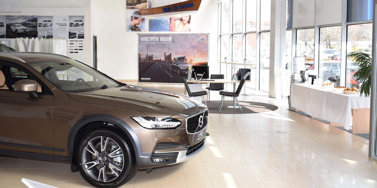 В салоне Volvo Car Коптево состоялась презентация V90 Cross Country