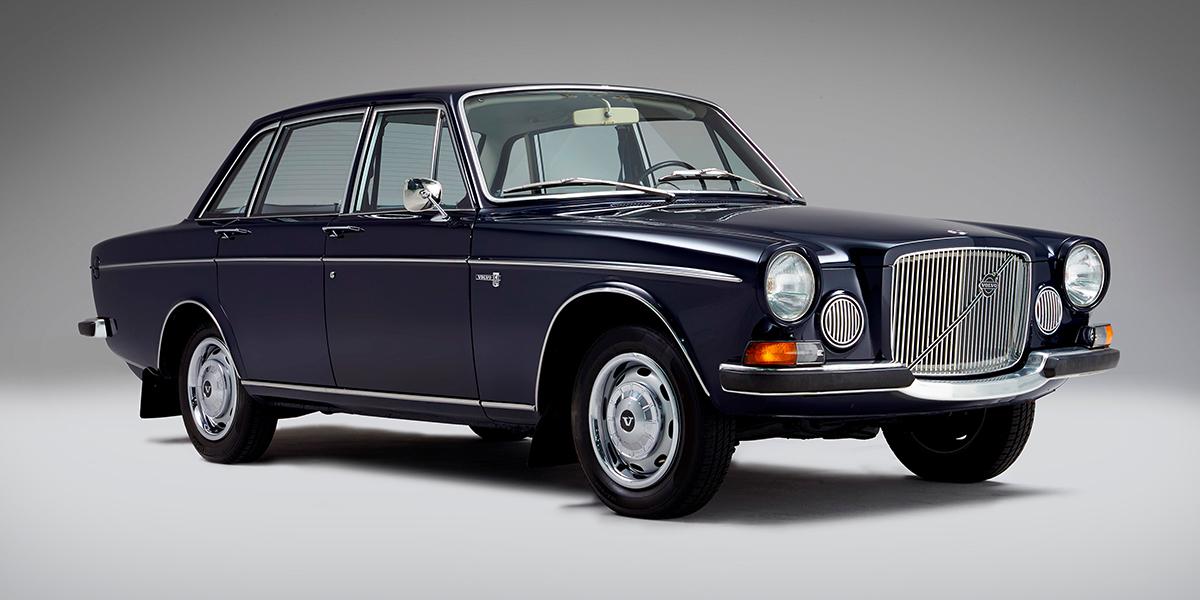Роскошный автомобиль 60-х годов Volvo 164 отмечает 50-летний юбилей