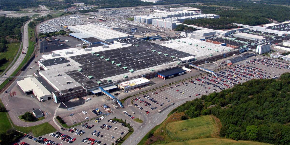 Volvo Cars снизит потребление электроэнергии и объём вредных выбросов благодаря многомиллиардной инвестиции в новый покрасочный цех на заводе в Торсланда