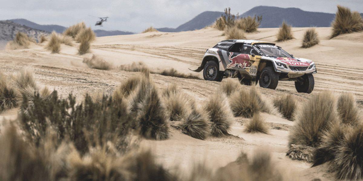 PEUGEOT 3008DKR завоевал первую победу на ралли «Дакар-2017»