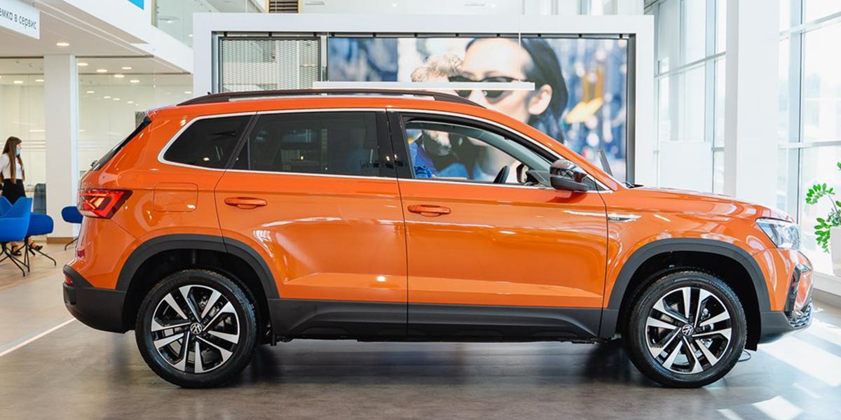 Новый внедорожник Volkswagen - НОВЫЙ Taos — уже в дилерских центрах Фаворит Хофф!