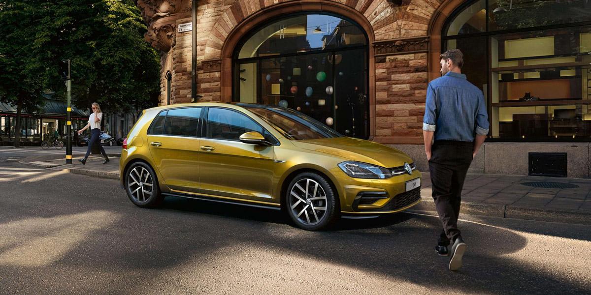 Volkswagen Golf — начало продаж в России