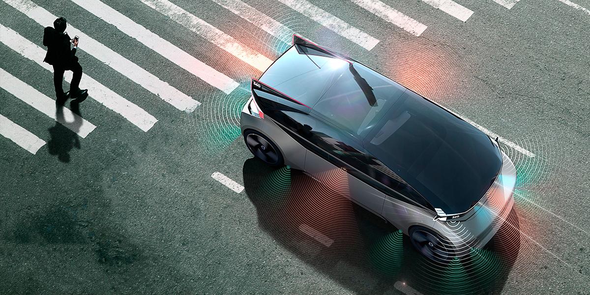 Концепт Volvo 360c призывает к новому стандарту безопасности взаимодействия беспилотных автомобилей