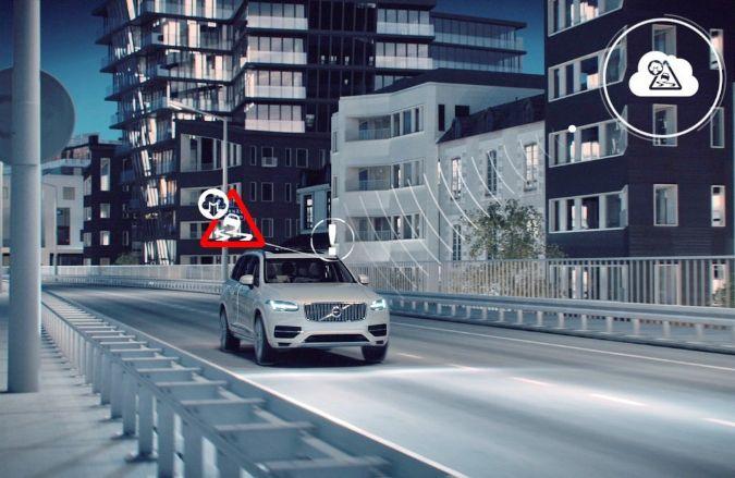 Проект Volvo Cars по созданию системы обмена информацией между автомобилями открывает новые направления для повышения комфорта и безопасности