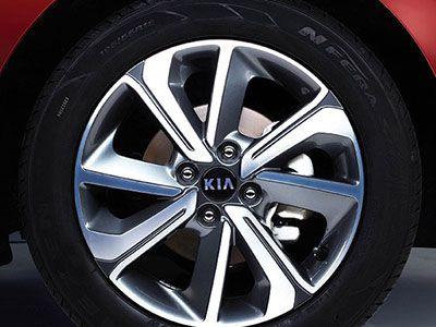 Дизайн колесных дисков Киа Рио седан